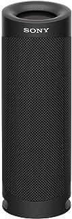 ソニー ワイヤレスポータブルスピーカー SRS-XB23 : 防水/防塵/防錆/Bluetooth/重低音モデル/マイク付き/ 最大12時間連続再生 2020年モデル / ブラック SRS-XB23 B