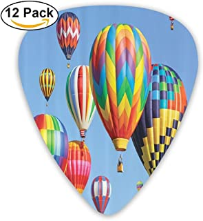 Newfood Ss Many Colorful Balloons Fly In The Sky Guitar Picks 12/Pack Set