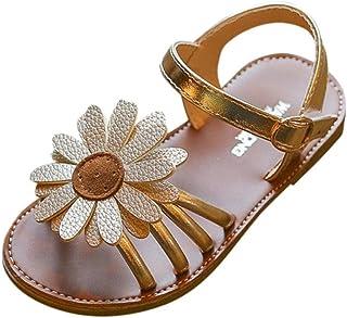 275970d4bc866 OHQ Filles Enfants Fleur D éTé Sandales Rome Chaussures Princesse Rose  Toddlerkids BéBé Garcon Mariage