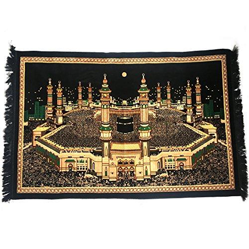 Turco islámica tapiz decoración de la pared–de terciopelo de peluche Santa KAABA meca Diseño