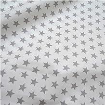 DIY Star afdrukken baby puur katoen qui gestikt stof half een meter DIY naaien laken jurk maken puur katoen 50 * 160cm voo...
