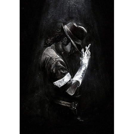 VVWV Motivational Dancing Mj Michael Jackson Dangerous Posters for Wall Living Room Boys Girls (W X H 12 X 18 Inch, Multicolour)
