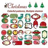Pegatina para Navidad, 524 Pcs Etiquetas Autoadhesivas de Navidad, Etiquetas Decorativas de Regalo para Navidad Cumpleaños Festival Boda Vacaciones Bombones Caramelo Fiesta Sello Bolsas
