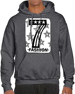 OSYARD Herren Graphic Druck Print Kapuzenpullover Hoodie, Herbst Winter Casual Print Langarm Hoodies Pullover Sweatshirt Top Solide Kapuzenbluse Outwear