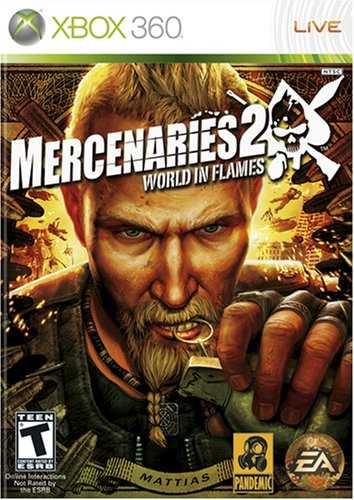 Mercenaries 2: World in Flames 360 2021 autumn and winter new - Oakland Mall Xbox