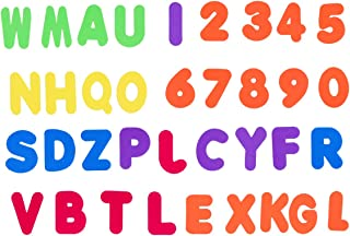 NUOLUX 36Pcs Baby Bath Toys Foam Bath Alphabet Letters and Numbers Non Toxic EVA Foam Bath Toy Best Educational Bath Toys