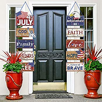 Americana 4th of July Party Banner Patriotic Party Decoration