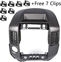 For Nissan Titan SE XE/Nissan Armada SE 2004 2005 2006 Instrument Panel Lid Finisher Bezel Replacement 68257-8S800 (Without Center Speaker)