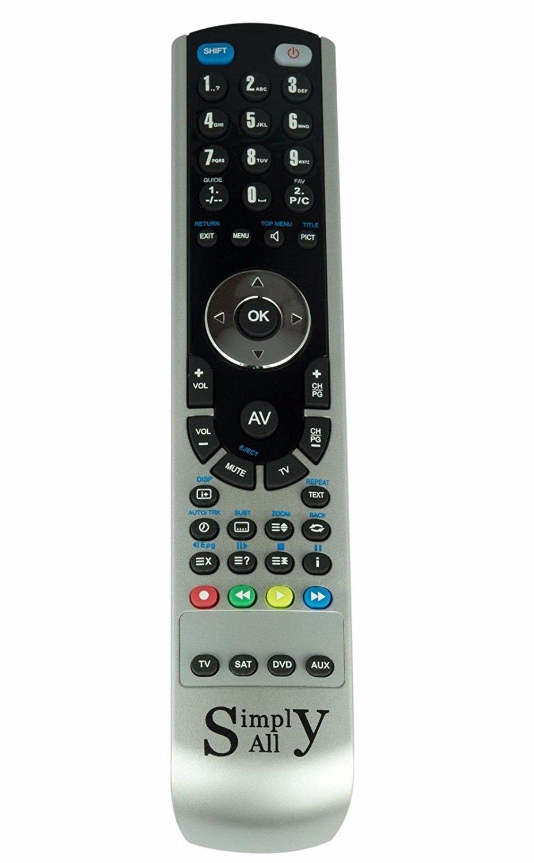 RemotesReplaced Reemplazo Mando a Distancia para Philips 32PFL7562D/10: Amazon.es: Electrónica