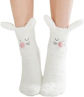 Calcetines De Invierno Invierno De Para Calcetines Mujer Calcetines De Estilo Simple Dormir Lindos De Dibujos Animados Para Dchen Calcetines De Invierno Calcetines Térmicos Calientes