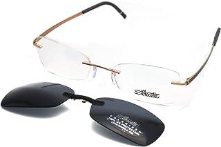 3ff10794672 Amazon.com  Rimless - Sunglasses   Eyewear   Accessories  Clothing ...