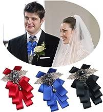 Fuerjia Wedding bow tie Classic Party Pair Bowknot Necktie wedding bridegroom Host gift
