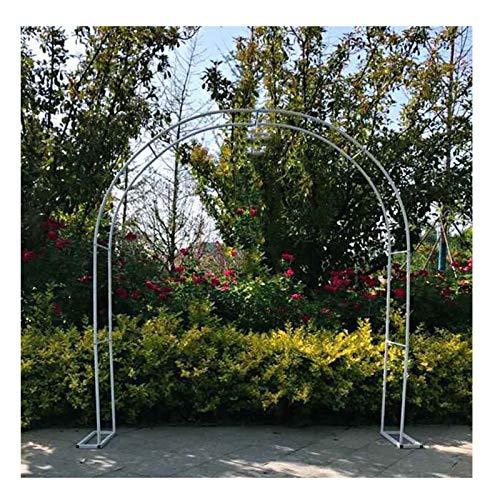 Arco per Rose in Metallo Arco per Rampicanti 220cmHx180cm L 230cm Hx200cm L Pergolato Arco da Giardino Esterno,Assemblare Liberamente
