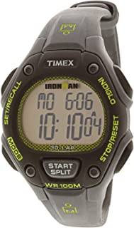 Timex Women's Ironman Classic TW5M14000 Matte Grey Rubber Japanese Quartz Sport Watch