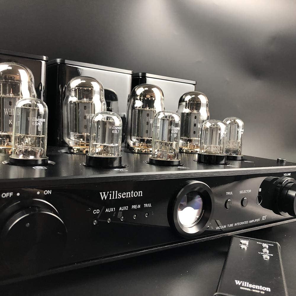 Black Willsenton R8 KT88//EL34 x4 Tube Integrated AMP Power Amplifier Headphone