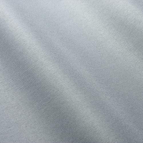Wasserdichter Stoff Oxford Gewebe 600D outdoor Zeltstoff Planenstoff Wasserfest - Silbergrau (18)