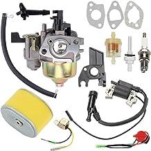 Hayskill GX 160 Carburetor w Fuel Filter Spark Plug for Honda GX160 GX200 5.5HP 6.5HP Engine WP30X Water Pump Pressure Was...