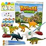 Dinosaurios que pintan juguetes para niños de 3-8 años Niños Juguetes de bricolaje Regalos Edad 3 4 5 6 Niños Niñas Kits de manualidades para Dinosaur Toy para niños Regalo de cumpleaños para 5-9 años