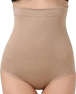 Women's Shapewear Hi-Waist Brief Firm Tummy Control Panties Seamless Butt Lifter Body Shaper Waist Trainer