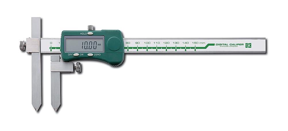権限を与える虎事前SK 穴ピッチ用デジタルノギス D-150A2