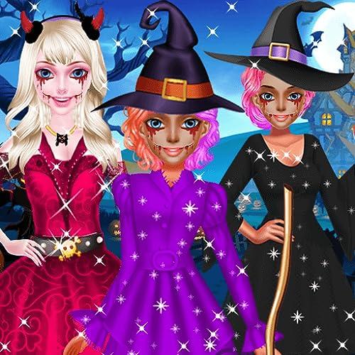 Halloween Dress Up - Girls Game