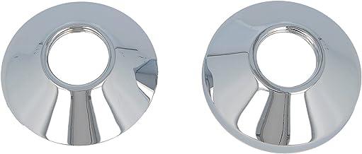 22 mm 2 pi/èces 18 mm 34 mm 15 mm ABS Lot de 2 rosaces pour tuyaux de chauffage /Ø ext/érieur : 85 mm chauffage 27 mm 43 mm 16 mm 12 mm