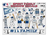 Rico MLB New York Yankees Spirit Family Decal Sheet, 8.5 x 11-inches