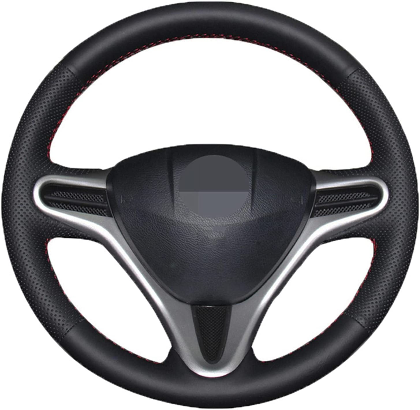 GSELKND Fixed price for Max 61% OFF sale Hand-Sewn Steering Wheel Cover Fit Honda C Suitable