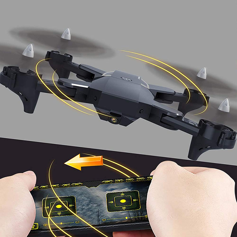 HXZM RennRPVDrohne 120°FOV 1080P HDKamera LiveVideo 120m h Hochgeschwindigkeitsquadcopter,Black