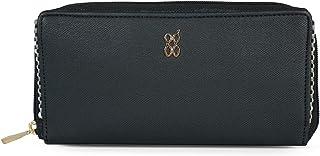 Baggit Autumn/Winter 2020 Faux Leather Women's Ziparound Wallet (Black) (Trimy)