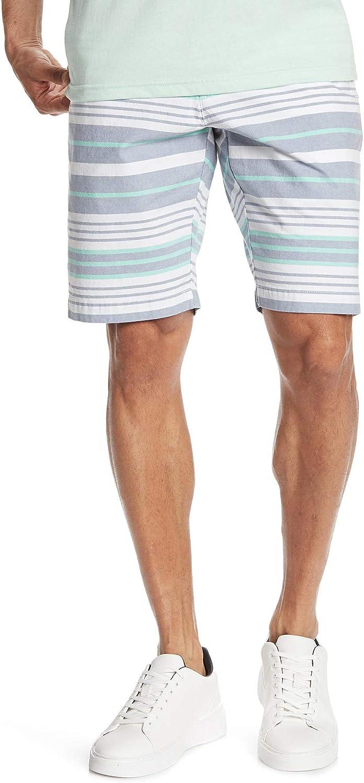 Spring new Popular work Ben Sherman Men's Oxford Stripe Horizontal Short