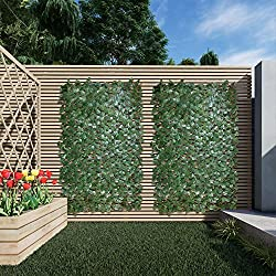 best top rated faux ivy privacy fences 2021 in usa