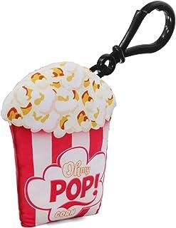 Oh My Pop Crunchy-Pillow Keyring, 8 cm, White