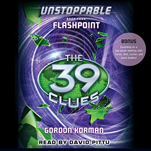 The 39 Clues: Flashpoint audiobook cover art