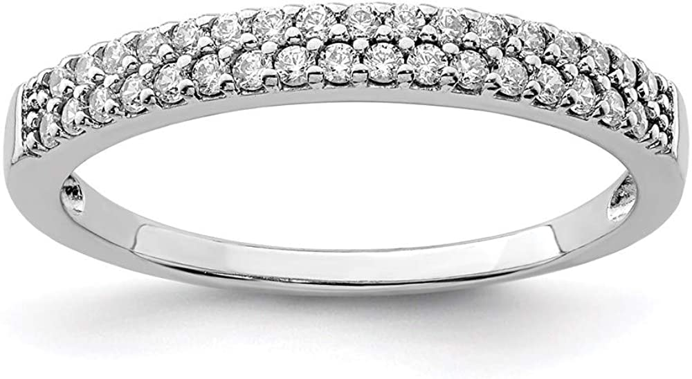 Max 48% OFF Ryan Factory outlet Jonathan Fine Jewelry Sterling Silver Zirconia Cubic Ring