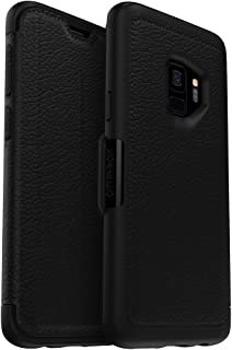 OtterBox Strada Series Case for Samsung Galaxy S9 - Frustration Free Packaging - Shadow (Black/Pewter)