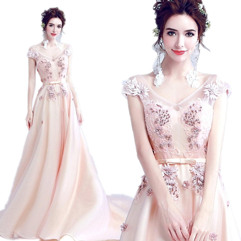 WWW USA Women's Sexy Party Dress Champnge Sleeveless Fishtail Bride Formal Maxi Dress