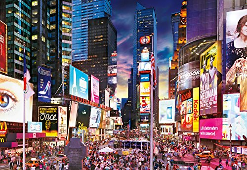 1000 piece puzzles time square - 5