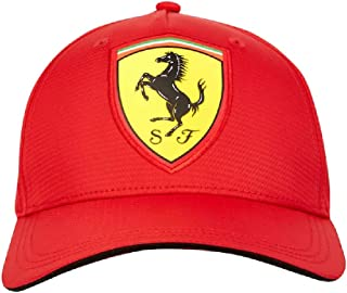 Scuderia Ferrari Red Carbon Baseball Cap