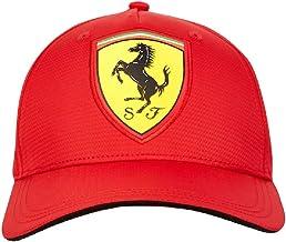 ScuderiaFerrari Cappello Ferrari Ufficiale Uomo Adulto Bambino Cappellino Berretto Scuderia Cavallino Rosso Rossa CAPFERRO