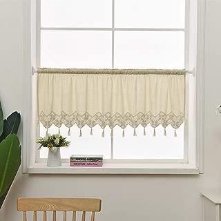 Best crochet kitchen curtains Reviews