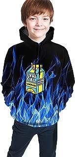 ROISHER Lyrical Lemonade Hoodies 3D Printed Breathable Pullover Hooded Sweatshirt for Kids,Boys,Girls