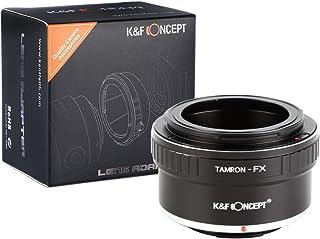 Adaptador de Lente Adaptador de Montaje de Lente de K&F Concept® para Montar la Lente Tamron en el Cuerpo de la Cámara FX Fujifilm X Mount Adaptador Tamron-FX