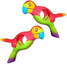 DealMux Parrot Bird strandhanddoekclips, multifunctionele handdoekclips, winddichte kunststof klemmen voor wasgoed, strand...