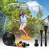 ZHUYU Outdoor-Trampolin Sprinkler, Spaß-Sommer-Spiel Water Sprinkler Trampolin Accessoires for Kinder Erwachsene und Gartenbewässerung im Freien abkühlenden (Color : 8m)