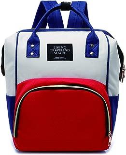 NINE DILONG Baby Diaper Bag Multi-Function Backpack Insulated Bottle Bag