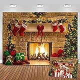 Selens 2 x 1,5 m de fondo de árbol de Navidad, fondo para fotografía interior, estudio de fotos, Navidad, fondo para decoración de fotos