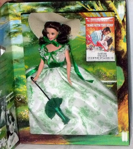 輸入バービー人形 Barbie as Scarlett O'Hara Gone With The Wind at Wilke's Barbeque [並行輸入品]