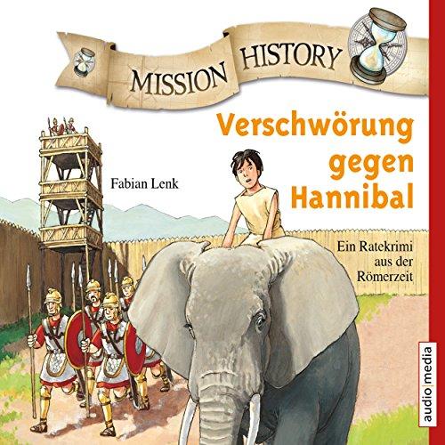 Couverture de Verschwörung gegen Hannibal - Ein Ratekrimi aus der Römerzeit
