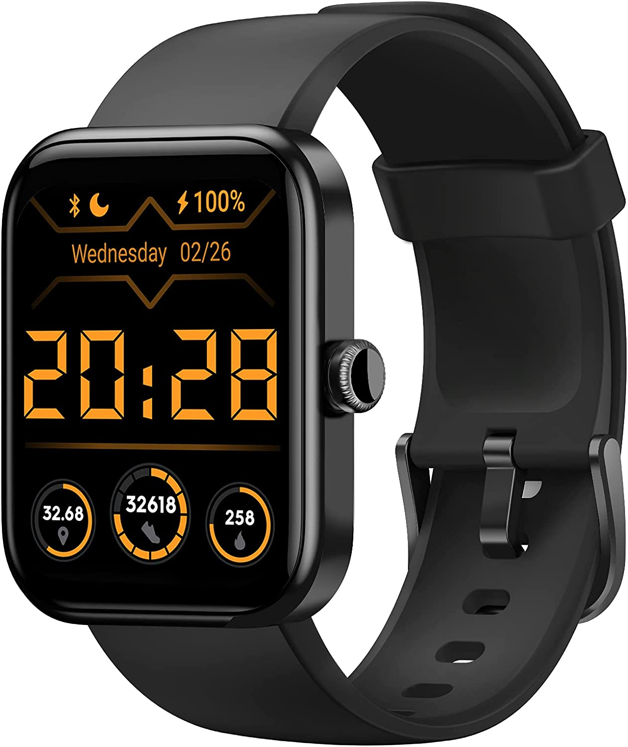 HAFURY Smart Watch Alexa Los Angeles Mall Microphone Great interest Built-In 10-Day Battery